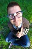 Genie nerd royalty-vrije stock foto's