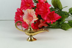 The Genie's Lamp Royalty Free Stock Image