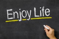 Genießen Sie das Leben Lizenzfreie Stockbilder
