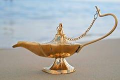 Genies lamp royalty free stock image