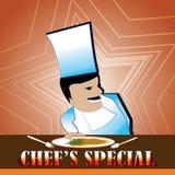 Geniet van chef& x27; s speciaal menu Royalty-vrije Stock Afbeeldingen