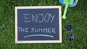 Geniet van de zomer Stock Foto's