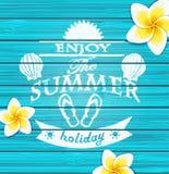 Geniet van de zomer Royalty-vrije Stock Foto