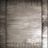 Genieteter Stahl stock abbildung