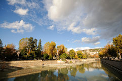 Genil river. In Granada, Andalusia Stock Images