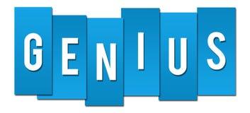 Genius Blue Stripes Stock Photo