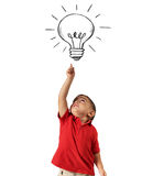Genius child Stock Images