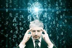 Genius concept Royalty Free Stock Image