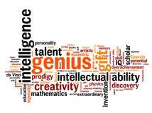 Genius stock illustration