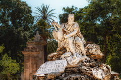 Genius of Palermo. In the city park, shot during daytime in Palermo Royalty Free Stock Photos