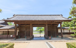 Genkansakigomon Gate of Marugame castle, Japan Stock Photos