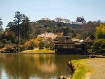 Genkyu-en garden at Hikone, Japan 1 Stock Images