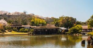 Genkyu-en garden at Hikone, Japan 2 Royalty Free Stock Photos