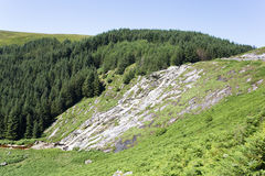 Genmacnass vattenfall Arkivbilder