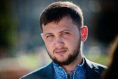 Gennady Afanasiev former Ukrainian political prisoner in Russia Stock Photos