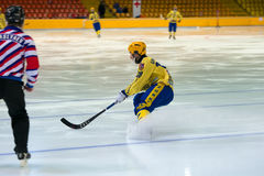 Gennady Bochkarev 88 in action Stock Image