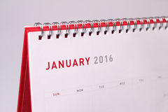 Gennaio 2016 fotografia stock