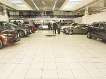 21 gennaio 2018 autocar di Maserati di salone dell'automobile dell'Ucraina Kiev Immagine Stock