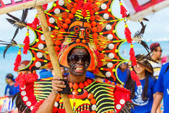 10 gennaio 2016 Boracay, Filippine Festival ATI-Atihan U Fotografie Stock