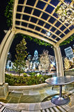 1° gennaio 2014, Charlotte, nc, S.U.A. - vita notturna intorno a charlot Fotografie Stock Libere da Diritti