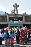 8 gennaio 2016 - Città del Messico: La basilica della nostra signora Guadalupe Immagine Stock