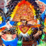 24 gennaio 2016 Iloilo, Filippine Festival Dinagyang Unid Fotografia Stock