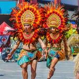 24 gennaio 2016 Iloilo, Filippine Festival Dinagyang Unid Fotografie Stock