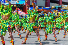 24 gennaio 2016 Iloilo, Filippine Festival Dinagyang Unid Immagine Stock Libera da Diritti