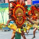 24 gennaio 2016 Iloilo, Filippine Festival Dinagyang Unid Fotografia Stock Libera da Diritti