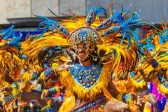 24 gennaio 2016 Iloilo, Filippine Festival Dinagyang Unid Immagini Stock Libere da Diritti