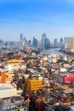 23 gennaio, orizzonte di Bangkok, Bangkok di paesaggio urbano, Tailandia Bangkok è Immagini Stock Libere da Diritti