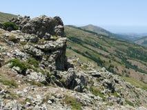 Gennargentu Nationaal park royalty-vrije stock afbeeldingen
