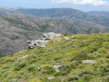 Gennargentu Nationaal park stock afbeelding