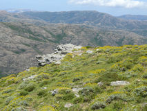 Gennargentu National Park Stock Image