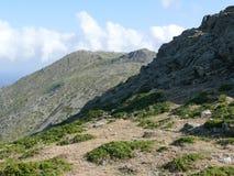 Gennargentu park narodowy Zdjęcie Royalty Free