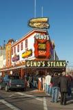 Geno's stki Zdjęcie Stock