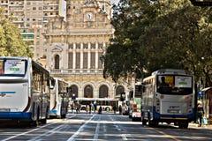 genoa Автовокзал и вокзал стоковая фотография