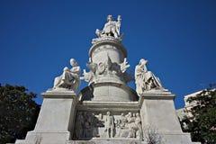 genoa Памятник Christopher Columbus стоковая фотография rf