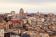Genoa afternoon panorama Stock Images