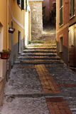 Genoa alley Royalty Free Stock Photo