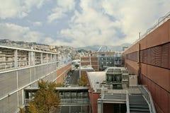 Genoa Aquarium, Liguria, Italia immagini stock libere da diritti