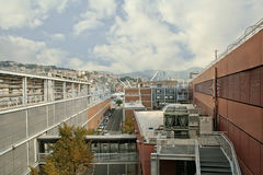 Genoa Aquarium, Ligurie, Italie Images libres de droits