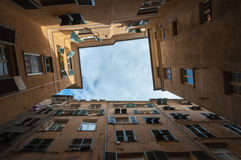 Genoa architecture Royalty Free Stock Photography