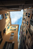 Genoa architecture Stock Images