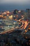 Genoa Blue Hour Image stock