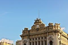 Genoa Brignole station royalty free stock image