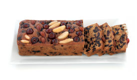 Genoa Cake Imagem de Stock Royalty Free