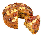 Genoa Cake Royalty Free Stock Photo
