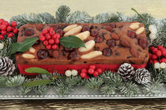 Genoa Cake Stock Photography