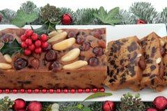 Genoa Cake Royalty Free Stock Photography
